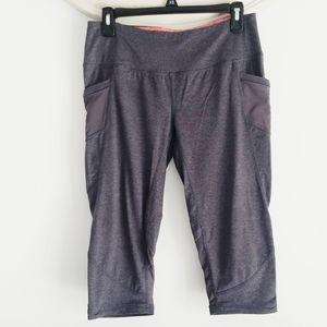 Tangerine grey workout leggings